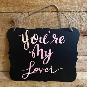 Taylor Swift Lover Sign